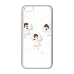 Christmas Angels  Apple Iphone 5c Seamless Case (white) by Valentinaart