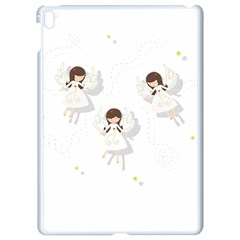 Christmas Angels  Apple Ipad Pro 9 7   White Seamless Case