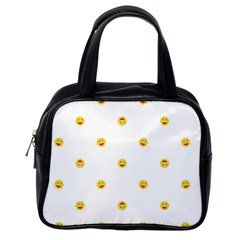 Happy Sun Motif Kids Seamless Pattern Classic Handbags (one Side) by dflcprintsclothing
