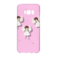 Christmas Angels  Samsung Galaxy S8 Hardshell Case  by Valentinaart