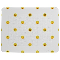 Happy Sun Motif Kids Seamless Pattern Jigsaw Puzzle Photo Stand (rectangular) by dflcprintsclothing