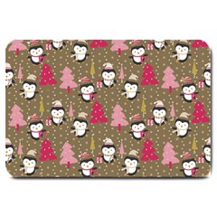 Christmas Pattern Large Doormat  by tarastyle