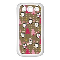 Christmas Pattern Samsung Galaxy S3 Back Case (white)