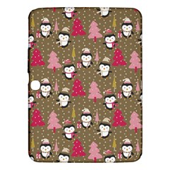 Christmas Pattern Samsung Galaxy Tab 3 (10 1 ) P5200 Hardshell Case  by tarastyle