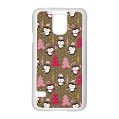 Christmas Pattern Samsung Galaxy S5 Case (white)
