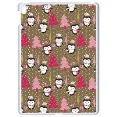 Christmas Pattern Apple Ipad Pro 9 7   White Seamless Case by tarastyle