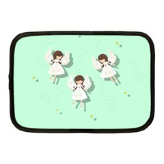 Christmas Angels  Netbook Case (medium)  by Valentinaart