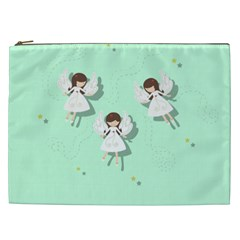 Christmas Angels  Cosmetic Bag (xxl)