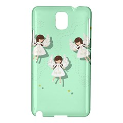 Christmas Angels  Samsung Galaxy Note 3 N9005 Hardshell Case by Valentinaart