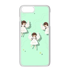 Christmas Angels  Apple Iphone 8 Plus Seamless Case (white) by Valentinaart