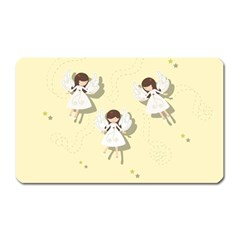 Christmas Angels  Magnet (rectangular) by Valentinaart