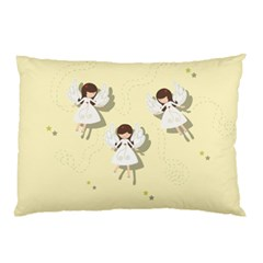 Christmas Angels  Pillow Case by Valentinaart