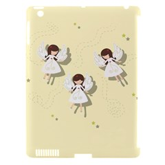Christmas Angels  Apple Ipad 3/4 Hardshell Case (compatible With Smart Cover)