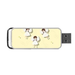 Christmas Angels  Portable Usb Flash (two Sides)