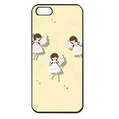 Christmas Angels  Apple Iphone 5 Seamless Case (black)