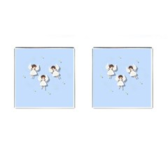Christmas Angels  Cufflinks (square) by Valentinaart