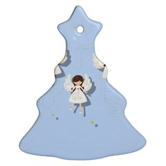 Christmas Angels  Ornament (christmas Tree)
