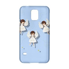 Christmas Angels  Samsung Galaxy S5 Hardshell Case  by Valentinaart
