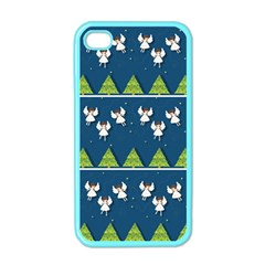 Christmas Angels  Apple Iphone 4 Case (color)