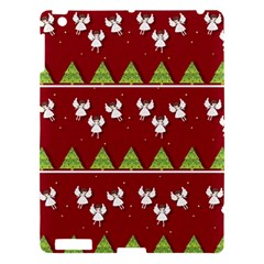 Christmas Angels  Apple Ipad 3/4 Hardshell Case