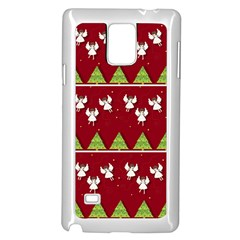 Christmas Angels  Samsung Galaxy Note 4 Case (white) by Valentinaart