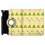 Christmas angels  Apple iPad 3/4 Flip 360 Case Front
