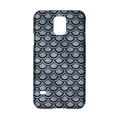 Scales2 Black Marble & Silver Paint Samsung Galaxy S5 Hardshell Case  by trendistuff