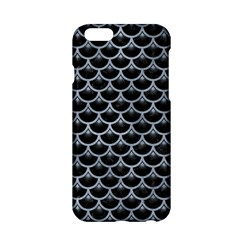 Scales3 Black Marble & Silver Paint (r) Apple Iphone 6/6s Hardshell Case by trendistuff