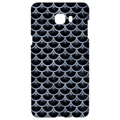 Scales3 Black Marble & Silver Paint (r) Samsung C9 Pro Hardshell Case  by trendistuff