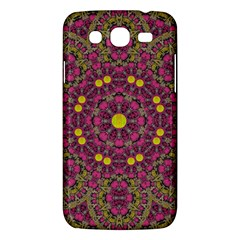 Butterflies  Roses In Gold Spreading Calm And Love Samsung Galaxy Mega 5 8 I9152 Hardshell Case  by pepitasart