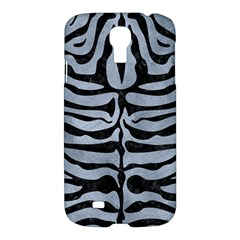 Skin2 Black Marble & Silver Paint Samsung Galaxy S4 I9500/i9505 Hardshell Case by trendistuff