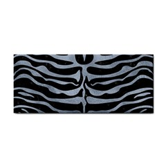 Skin2 Black Marble & Silver Paint (r) Cosmetic Storage Cases by trendistuff