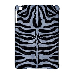 Skin2 Black Marble & Silver Paint (r) Apple Ipad Mini Hardshell Case (compatible With Smart Cover) by trendistuff