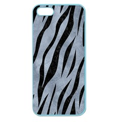 Skin3 Black Marble & Silver Paint Apple Seamless Iphone 5 Case (color) by trendistuff