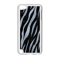 Skin3 Black Marble & Silver Paint (r) Apple Ipod Touch 5 Case (white) by trendistuff