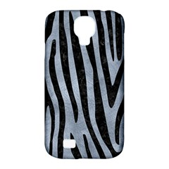 Skin4 Black Marble & Silver Paint (r) Samsung Galaxy S4 Classic Hardshell Case (pc+silicone) by trendistuff