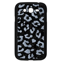 Skin5 Black Marble & Silver Paint Samsung Galaxy Grand Duos I9082 Case (black) by trendistuff