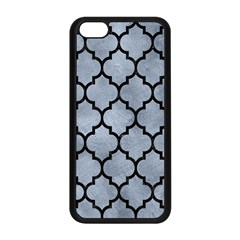 Tile1 Black Marble & Silver Paint Apple Iphone 5c Seamless Case (black) by trendistuff