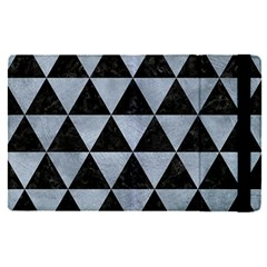 Triangle3 Black Marble & Silver Paint Apple Ipad Pro 12 9   Flip Case by trendistuff