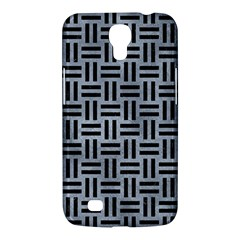 Woven1 Black Marble & Silver Paint Samsung Galaxy Mega 6 3  I9200 Hardshell Case by trendistuff