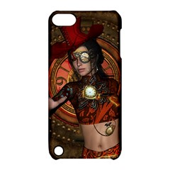 Steampunk, Wonderful Steampunk Lady Apple Ipod Touch 5 Hardshell Case With Stand by FantasyWorld7