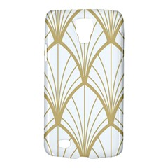 Art Deco, Beautiful,fan Pattern, Gold,white,vintage,1920 Era, Elegant,chic,vintage Galaxy S4 Active by 8fugoso