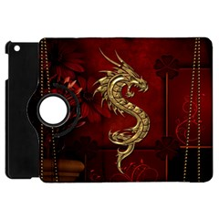Wonderful Mystical Dragon, Vintage Apple Ipad Mini Flip 360 Case by FantasyWorld7