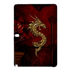 Wonderful Mystical Dragon, Vintage Samsung Galaxy Tab Pro 10 1 Hardshell Case by FantasyWorld7