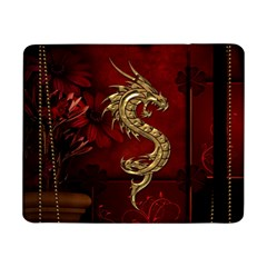Wonderful Mystical Dragon, Vintage Samsung Galaxy Tab Pro 8 4  Flip Case by FantasyWorld7
