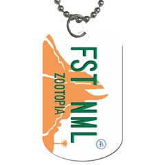 Fast Animal Dog Tag (two Sided)
