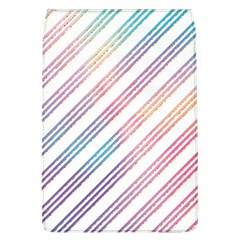 Colored Candy Striped Flap Covers (l)  by Colorfulart23