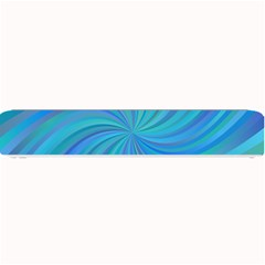 Blue Background Spiral Swirl Small Bar Mats
