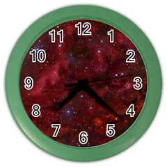 Abstract Fantasy Color Colorful Color Wall Clocks by Celenk