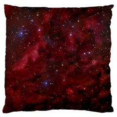 Abstract Fantasy Color Colorful Large Flano Cushion Case (one Side) by Celenk
